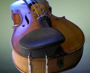 This chinrest ends violin slipping